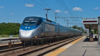 Acela train Ashland High Speed Rail