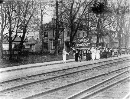 Ashland VA railroad tracks 1918