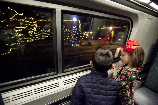 Washington Post article Ashland Christmas train