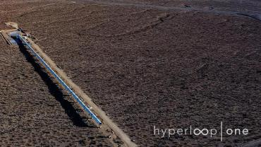 Hyperloop test track