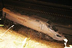 Santiago, Spain high speed train crash